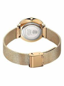 Citizen EM0643-50X L Ambiluna Women's Watch Rose Gold Tone Stainless Steel NIB