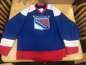 meet 17688 6ad64 Details about WISEBURN HOCKEY REVERSIBLE JERSEY hockey Size Large 42-44