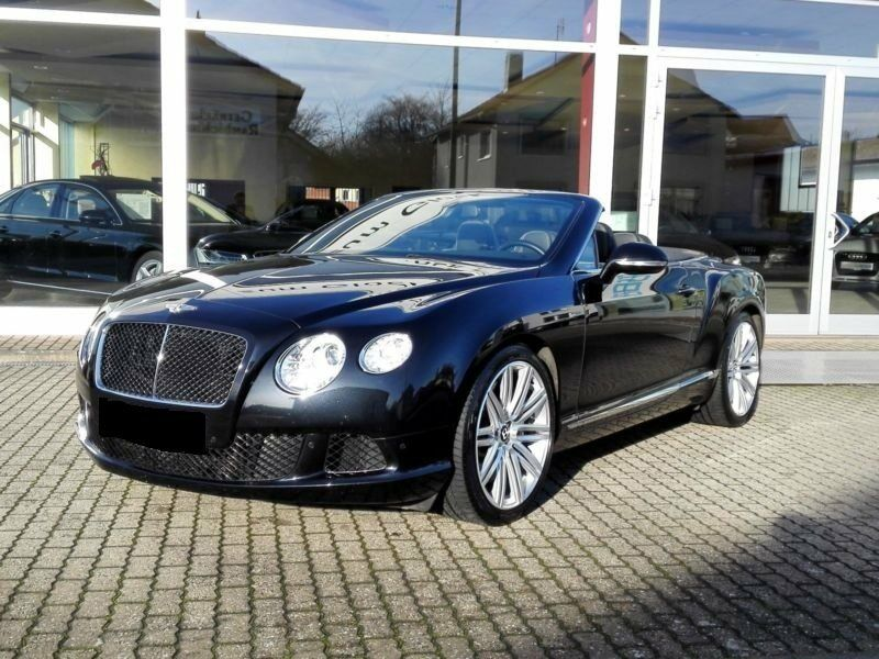 Bentley Continental GT 6,0 W12 Convertible Speed aut. 2d - 2.695.900 kr.