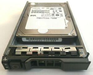 """2 x Toshiba 900GB 10K 2.5/"""" SAS Hard Drive for Dell Server R710 R720 R610 R620"""