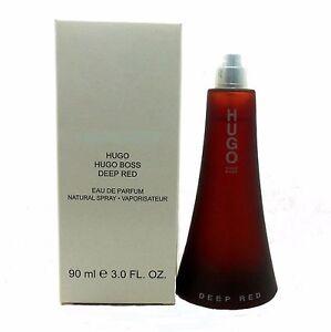 04d8962f62a8 Deep Red by Hugo Boss Perfume 3.0 Oz EDP Spray for Women Never ...