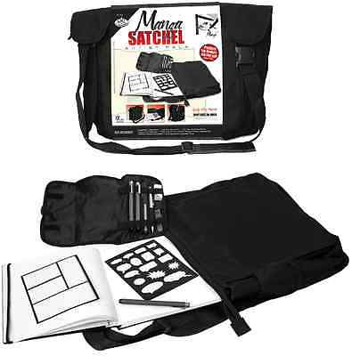 Royal and Langnickel Manga Art Satchel & Artist Drawing Sketching Set