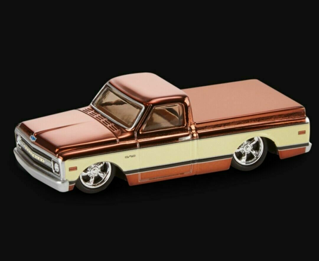 2020 Hot Wheels RLC Exclusive 1969 Chevy C-10 CONFIRMED IN HAND  Sold Out