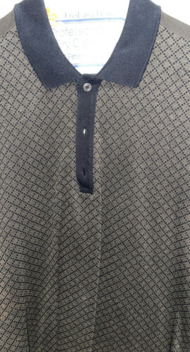 GUCCI Diamante Polo Shirt Large Mens
