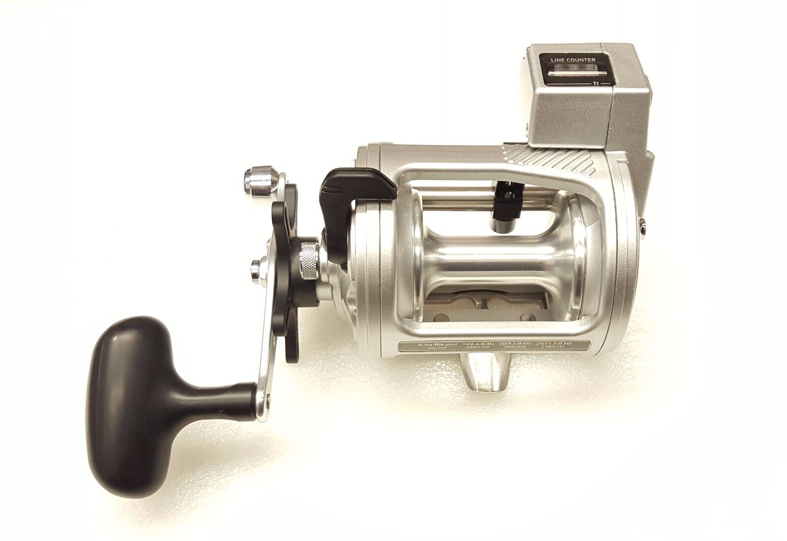 Daiwa Accudepth Plus-B 4.2:1 Line Counter Casting Casting Counter Fishing Reel, Left - ADP47LCBL 146d73
