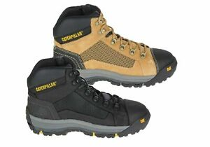 Mens-Caterpillar-Convex-St-Mid-Comfortable-Steel-Cap-Work-Boots-ModeShoesAU