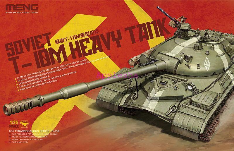 Meng Model 1 35 TS-018 Soviet TS-10M Heavy Tank