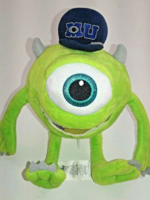 Disney Baby Boys 2 Piece Monster S Inc Mike Wazowski Footie Matching Hat Set 3 Months For Sale Online Ebay