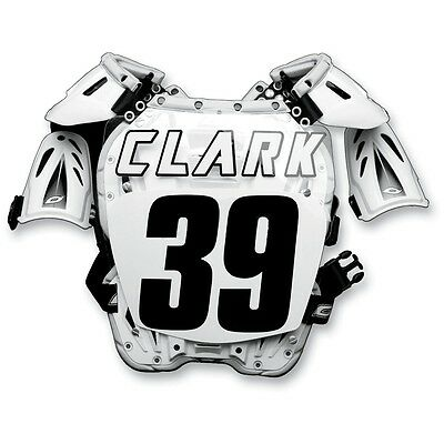 Factory Effex Chest Protector ID Name Letter Sticker Kit MX Motocross Fox Thor