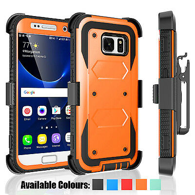 Luxury 360° Ultra Shockproof Protective Hard Case Cover For Samsung Galaxy S6 S7