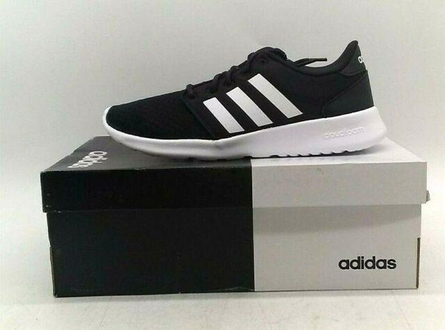 adidas Cloudfoam QT Racer Black White