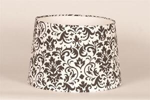 Shop Sweet JoJo Designs Hotel White and Black Lamp Shade ...   Black And White Lamp Shades