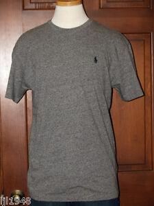 79a9cf2ce Polo Ralph Lauren Gray Pepper Heather T-Shirt Polo Pony S M L XL XXL ...