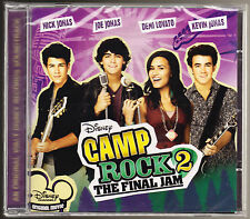 DISNEY - CAMP ROCK 2 - THE FINAL JAM - 18 TRACKS - NEW & SEALED CD (2010)