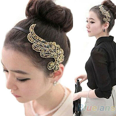 Fashion Womens Korean Cute Angel Wing Hairband Headband Hair Accessories B54U