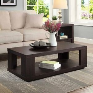 Better Homes And Garden Steele Coffee Table Espresso Fin