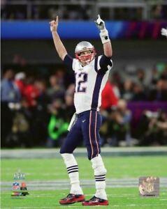 4ea35feaef Tom Brady 2018 New England Patriots Super Bowl LII 52 8x10 Photo  2 ...