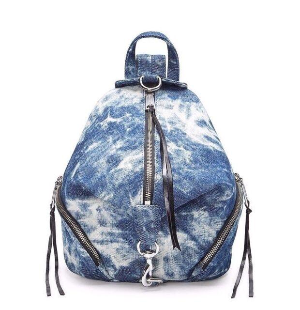 ba663123b3927 Rebecca Minkoff Medium Julian Denim Backpack Tie Dye for sale online ...
