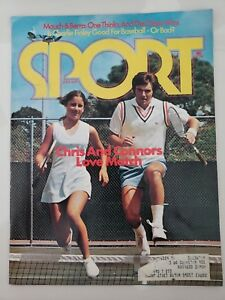 SPORT-MAGAZINE-July-1974-Vol-58-No-1-CHRIS-EVERT-amp-JIMMY-CONNORS-COVER