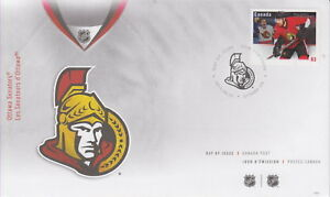 CANADA-2673-63-NHL-TEAM-JERSEYS-OTTAWA-SENATORS-FIRST-DAY-COVER