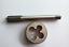 New 1pc HSS M12 X 1mm Plug Left Tap and 1pc M12 X 1.0mm Left Die Threading Tool