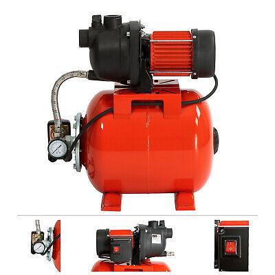 Grafner® Hauswasserwerk Gartenpumpe 800W 20L Pumpe Wasserwerk Druckkessel 3.500L