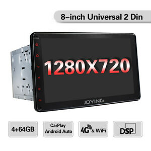 EU-Doppel-DIN-Autoradio-GPS-Navi-4GB-Mit-1280-720P-Touchscreen-Android-Head-Unit