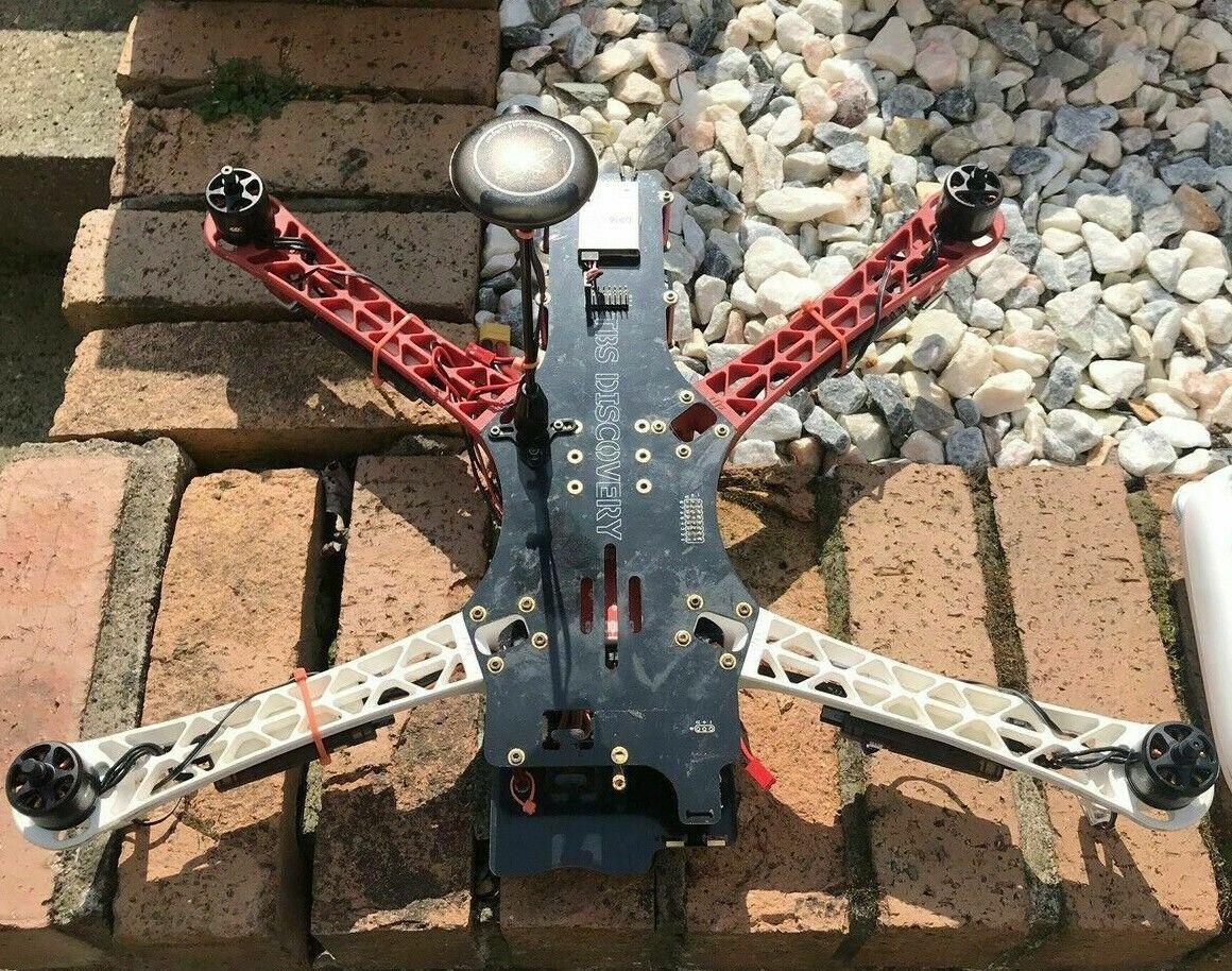 TBS Discovery RC Quadcopter DJI Naza Gps E310 Esc 960KV motores DJI radio Tx Rx