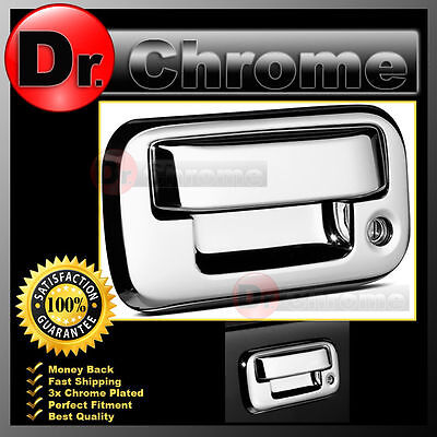 04-14 FORD F150+08-12 Super Duty Triple Chrome Plated ABS Tailgate Handle Cover