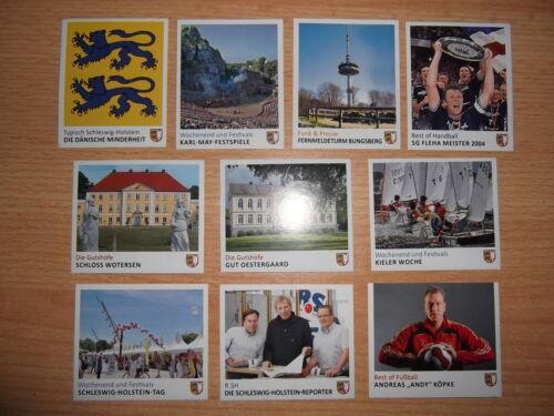 30 pezzi scegliere Sticker PANINI il nostro Schleswig-Holstein