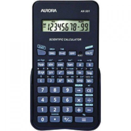 Aurora AX501 Scientific Calculator Black
