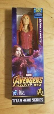 "Marvel Avengers Scarlet Witch Infinity guerre Titan Hero Series 12/"" Action Figure"