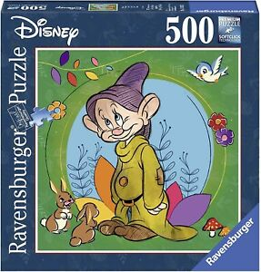 Puzzle CUCCIOLO Da Biancaneve Sette Nani 500 Pezzi 50x50cm Ravensburger DISNEY