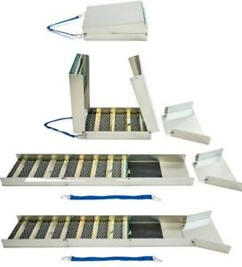 50-034-Folding-Aluminum-Sluice-Box-15-034-Folded-Down-Comes-With-Carpet-amp-Miners-Moss
