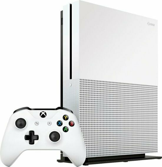 Microsoft - Xbox One S 1TB Console Bundle - White