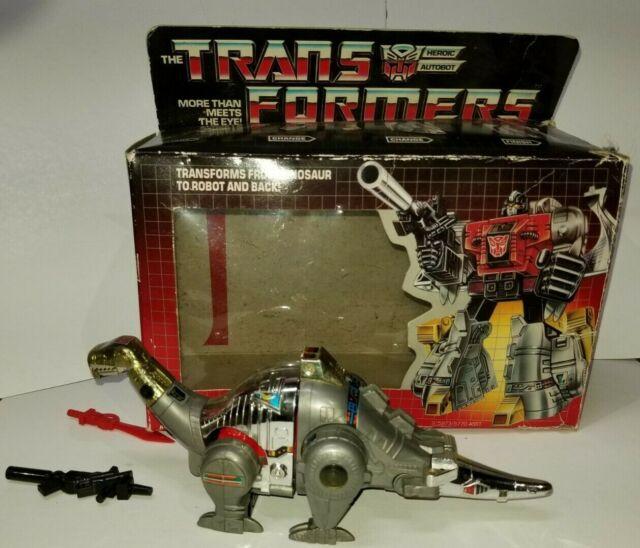 G1 Transformers Sludge Autobot Dinobot Robot Toy Hasbro Action Figure 1985
