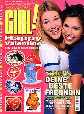 Kult-Zeitschrift  BRAVO GIRL, Nr. 4 von 1999, Mode und Trends, Beauty, Liebe uvm