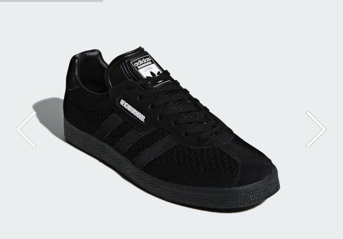sports shoes c7c10 d3b4e 635a50 Adidas Gazelle Super x NBHD Neighborhood Neighborhood Neighborhood  Size 11.5 Black ORDER CONFIRMED.