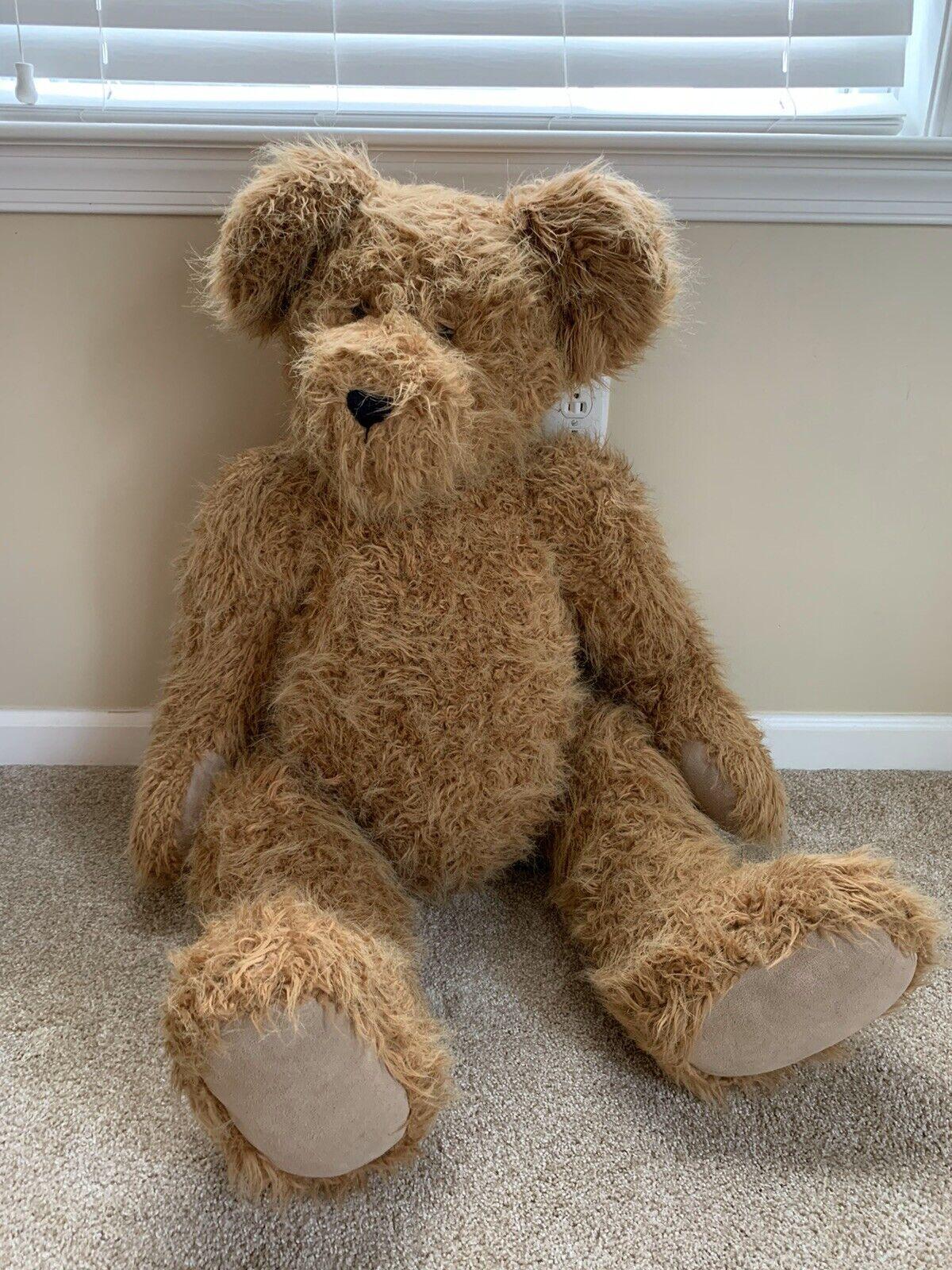 Boyds Bears  Big Harry  Teddy Bear Jointed Jumbo 40  Plush Bear - Retirot