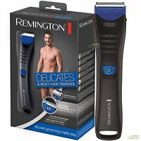 Remington Mens Delicates All-Over Body and Hair Trimmer Clipper Shaver BHT250