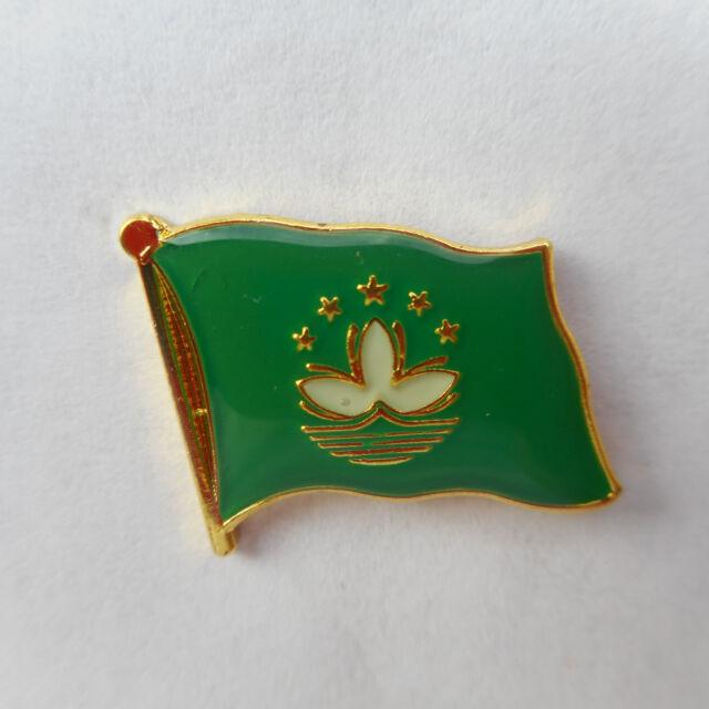 Macao Flaggenpin,Flagge,Pin,Badge,Flag,Sticker China