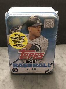 2021 Topps Series 1 MLB Baseball Aaron Judge Tin, SEALED NEW, Free Ship🔥🔥