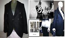 Bird By Juicy Couture Black Pepper Coat, Jacket $628 XS