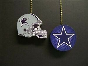 2 Dallas Cowboys Football Ceiling Fan Pulls Ebay
