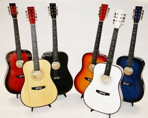 Cherrystone-41-Zoll-Westerngitarre-4-4-Akustik-Gitarre-MY41-Farbauswahl