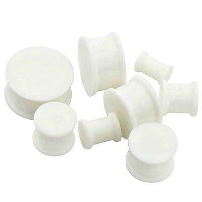 0 25//32in-1 1//2in Hider Plug Silicone Skin Colour Flesh Tunnel Ear Color