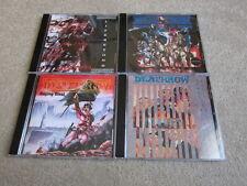 Deathrow 4CD Set Deception Ignored/Riders Of Doom/Life Beyond/Raging Steel