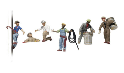 figuras miniatura mundos H0 Trabajadores de la ciudad de Woodland scenics A1826 1: 87