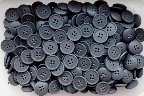 15 mm 18 mm 20 mm GRIS ANTHRACITE Manteau 4 Trous Qualité Boutons Bouton Q34A Q34B Q34C
