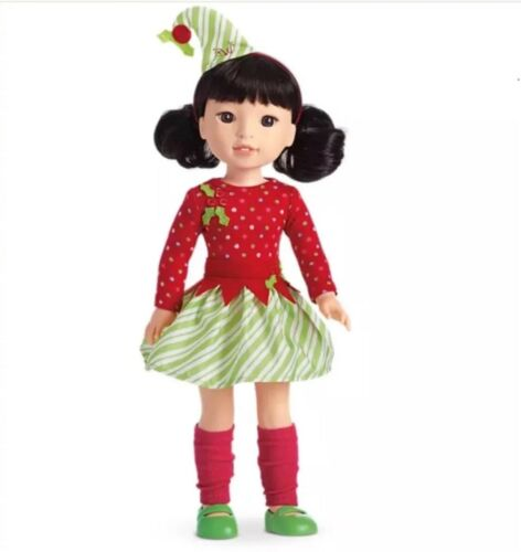 American Girl Wellie Wisher Elf Outfit Set fits 14.5 inch doll